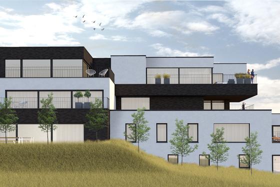 Deze residentie biedt 11 stijlvolle Appartementen met terras en lift in een groene omgeving met ruime privatieve staanplaatsen rond het gebouw. LAATSTE APPARTEMENT!!