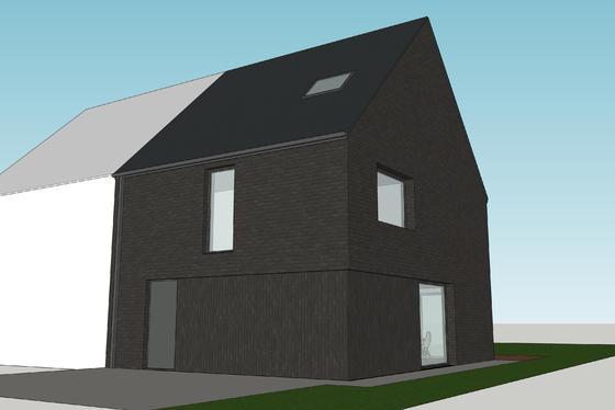 Stijlvolle en moderne nieuwbouwwoning op 370m gelegen in een residentiële omgeving, nabij het centrum van Geraardsbergen.