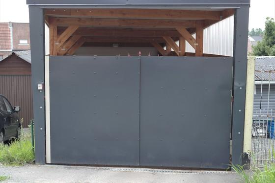 erenoveerde dubbele garage van 56m².
