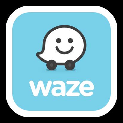 Navigeer via Waze